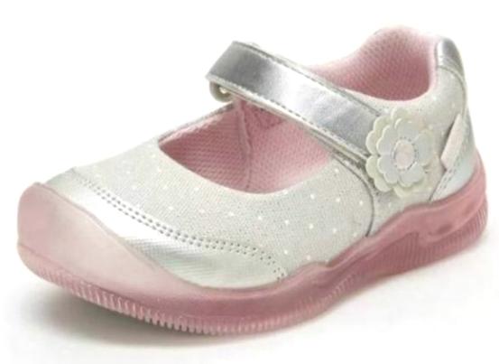 Surprize Falcata Rite Sabbia Bambine Lavabili Luminoso Argento/Rosa Sneakers