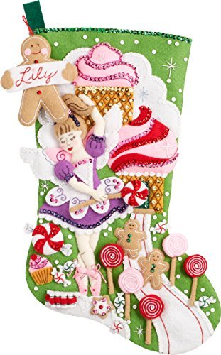 Primary image for Bucilla 86714 Sugarland Fairy Stocking Kit
