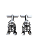 R2d2 silver plated twins official product jewelry star wars-lucasfilm ltd - $204.88