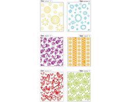 Sizzix Texturz Texture Plates Kit #3, #654841