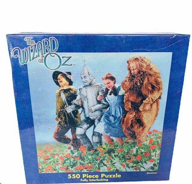 Wizard of Oz puzzle Pressman sealed Turner Judy Garland 550 piece dorothy tinman - $49.45