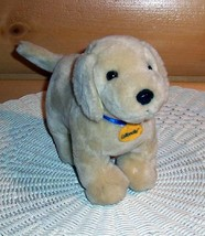 "Cottonelle Bath Tissue Yellow Labrador Puppy Dog with Collar Plush 8"" Ma... - $5.69"