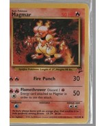 Magmar - Pokemon Colllectible Card Game - Fire  - 2000 - 51/130 - Wizards. - $0.97