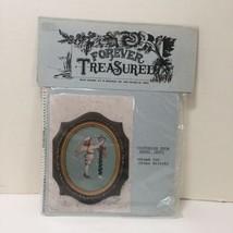 Victorian Snow Angel Boy Cross Stitch Pattern Forever Treasured - $7.84