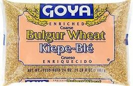 Goya Enriched Coarse Bulgur Wheat Kiepe-Ble Grueso Enriquecido 1lb. 8oz - $11.87