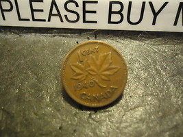 1940 CANADIAN CENT COIN    ****     >> COMBINED SHIPPING  - $1.73