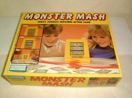 Monster Mash Kids Board Game 100% Complete Parker Brothers 1987 - $35.00