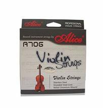 Pro Steel Violin Strings Set 4 Strings G, D, A & E, Medium