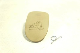 08-2013 cadillac cts child safety back seat anchor cover cap lid beige tan strap - $9.38