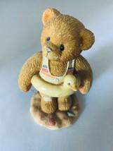 Cherished Teddies 1996 Jerry Ready To Make a Splash 203475 Figurine Home Decor - $7.69