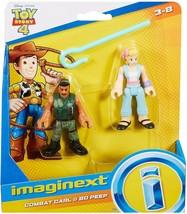 Fisher Price Imaginext Toy Story 4 Combat Carl and Bo Peep Disney Pixar - $9.99