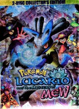 DVD - Pokemon Lucario and The Mystery of Mew (2 Disc Collector's Edition) - $11.50