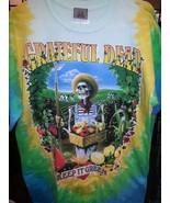 New GRATEFUL DEAD Keep it GREEN TIE DYE T-Shirt DOUBLE SIDED  - $24.89+