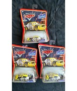 Sealed lot of 3 Mattel Pixar Disney die cast Supercharged LEAK LESS Fast... - $21.77