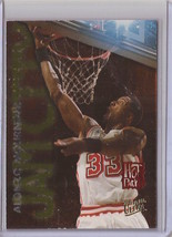 1995-96 Fleer Ultra Alonzo Mourning Jam City Hot Pack #7 Basketball Card - $4.75