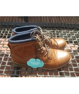 Sonoma Goods For Life Boys' Tan Scoreboard Ankle Boots-NWOB-RV$55-Size 7 - $28.00