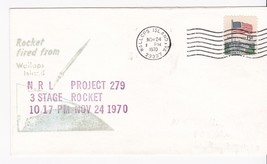 NRL PROJECT 279 3 STAGE ROCKET FIRED FROM WALLOPS ISLAND, VA 11/24/1970 - $1.78