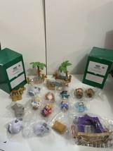 Lot Little People Christmas Nativity Set Wise Men Mary Jesus Lil' Shepherds - $89.05