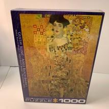 "Eurographics Jigsaw Puzzle Gustav Klimt's ""Adele Bloch-Bauer"" 1000 piece New - $17.99"