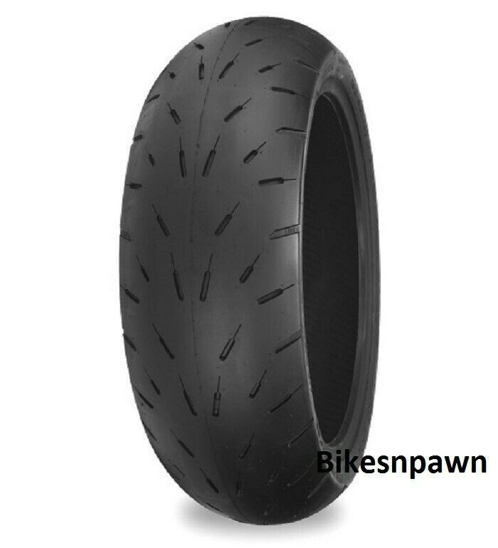 New Shinko Hook-Up Pro Radial Rear Motorcycle Drag Race Tire 190/50ZR17 87-4651P