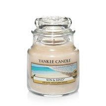 Yankee Candle Sun & Sand Small Jar Candle, Fresh Scent - $14.99