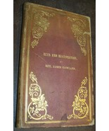 1860 Ruin Restoration Parable Prodigal Son Antique Bible Study Etiquette... - $26.72