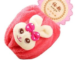 Set of 2 Plush Baby Sleeves Arm/Foot Covers Baby Clothes Accessories -Ra... - $17.74
