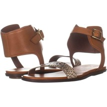 Cole Haan Barra Ankle Cuff Sandals 876, Camillo Leather, 8.5 US - $50.87