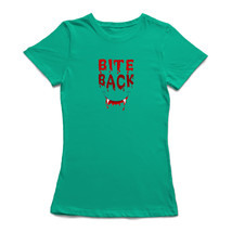 Bite Back Smiley Fangs Women's T-shirt - $9.89+