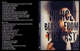 Prince 4 CD SETS $40 EACH BLAST PAST LIVE AND MORE  - $40.00