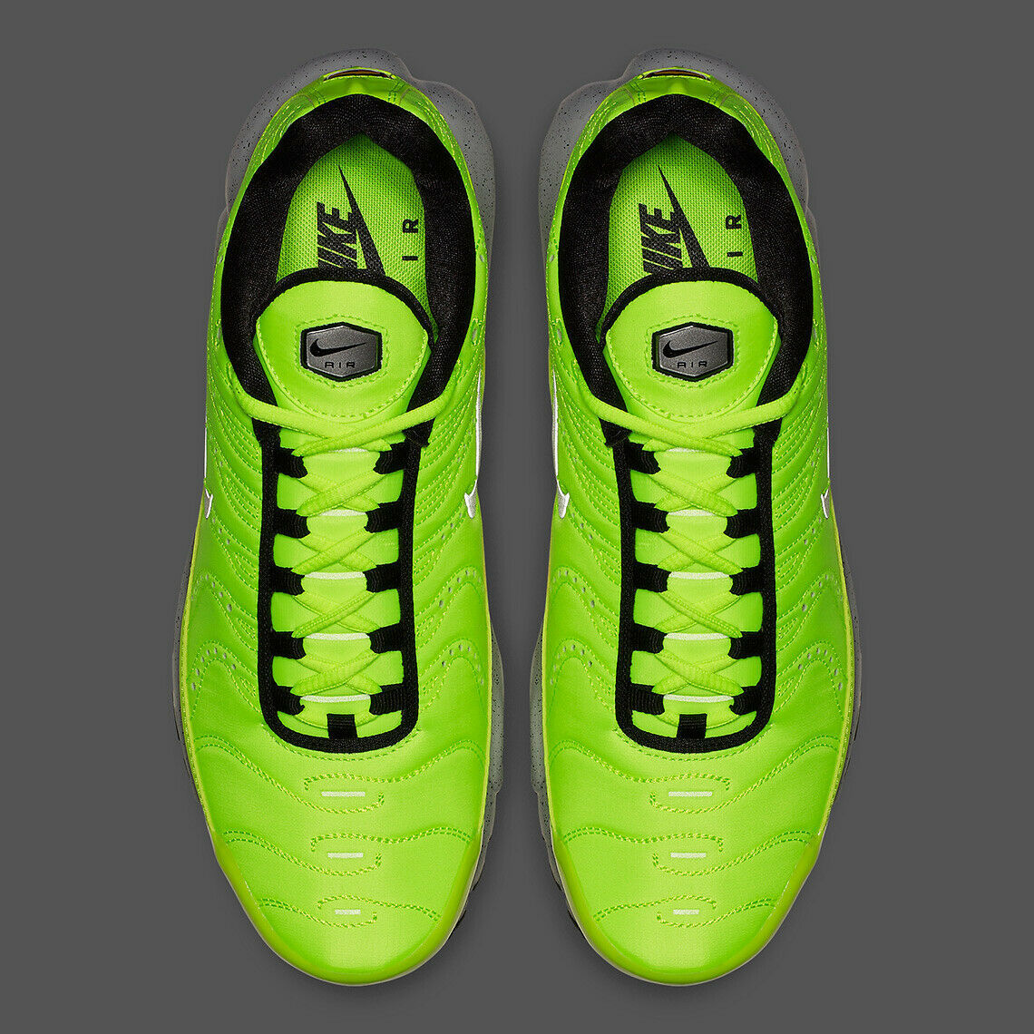 Nike Air Max Plus Premium Volt/Matte Silver-Wolf Grey-Black Shoes