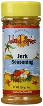 Island Spice JERK Seasoning - Product of Jamaica - THREE 8 oz Jars - $28.40