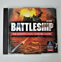 BATTLESHIP The Ultimate Naval Warfare Game (Hasbro) 2-Player CD - $9.02