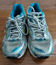 Mizuno Wave Inspire 5 Running Shoes Women's Size 8.5 White Teal Great Condition - $14.03