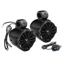Boss Audio B62ABT 6.5 2-Way Amplified Waketower Speakers w/Bluetooth Con... - $250.71
