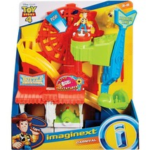 Toy Story 4 Carnival Playset with Woody & Ducky - $39.50