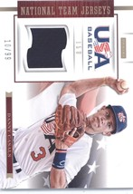 2012 Panini USA Baseball 15U National Team Jerseys #6 Danny Casals NM-MT (Memora - $8.00