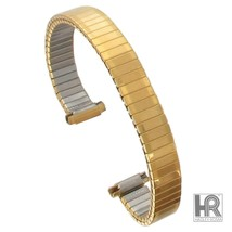 Hadley Roma LB6911Y 8-11mm Watch Band Gold Tone Pvd Stainless Shipsfree - $16.58