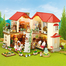 NEW Sylvanian Families BEECHWOOD HALL House with lights Epoch Japanese version - $99.00