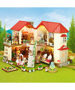 NEW Sylvanian Families BEECHWOOD HALL House with lights Epoch Japanese v... - $99.00