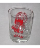 "Neat Vintage 4 1/4"" Nebraska Harry Cornhusker Drinking Glass - $9.74"