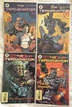 Terminator 1-4 Complete Set 1 2 3 4 Alan Grant Dark Horse Comics 1998 - $16.78