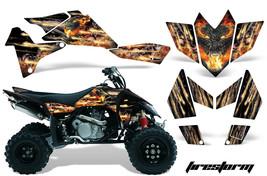 ATV Graphics Kit Quad Decal Sticker Wrap For Suzuki LTR450 2006-2009 FIRESTORM K - $158.35
