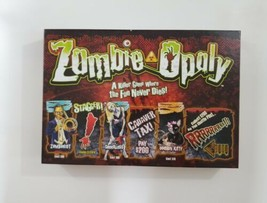 Zombie Opoly Zombie Themed Board Game 2012 Late for the Sky  - $24.30