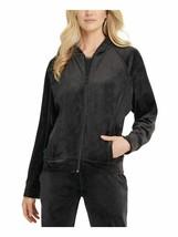 DKNY Womens Sweater Allover Printed Full-Zip Raglan Sleeve Bomber Jacket... - $32.99