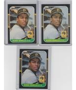 1987 Donruss #558 Bobby Bonilla  Lot of 3 - $1.55