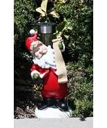 Santa Outdoor Solar Garden Decor Landscape Light LED - $36.49