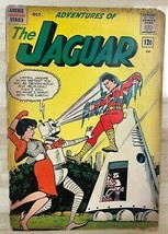 ADVENTURES OF THE JAGUAR #9 (1962) Archie Comics GOOD - $9.89