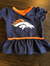 Nfl Denver Broncos 0-3 Months Girls Dress Team Apparel - $5.80