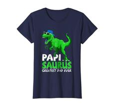 Brother Shirts - Papisaurus T-Shirt | Greatest Dad Ever 2018 T-Shirt Wowen image 4